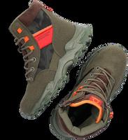 Groene BENETTON Hoge sneaker DESERT  - medium