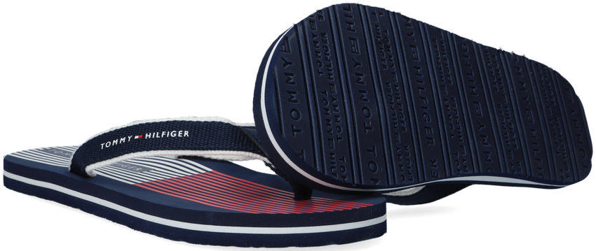 Blauwe TOMMY HILFIGER Teenslippers 30984  - larger