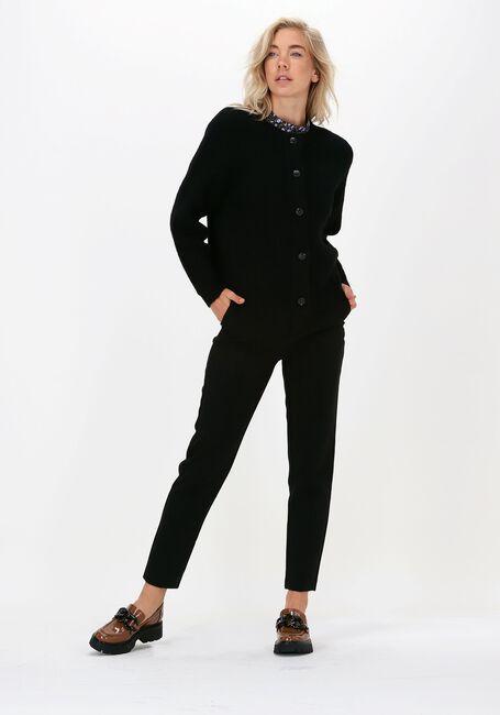Zwarte SELECTED FEMME Vest LULU LS KNIT SHORT CARDIGAN - large