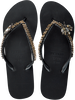 Zwarte UZURII Slippers GOLD FLY MH - small