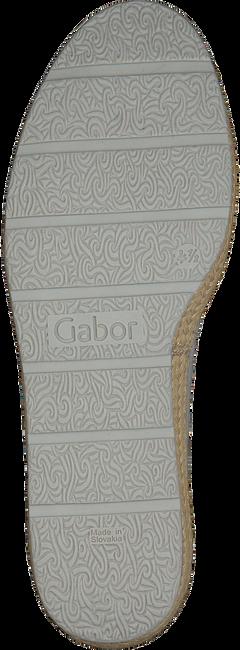 Grijze GABOR Espadrilles 400.1  - large