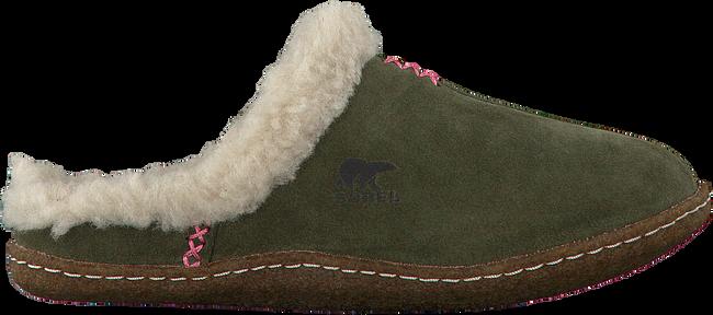 Groene SOREL Pantoffels NAKISKA SLIDE  - large