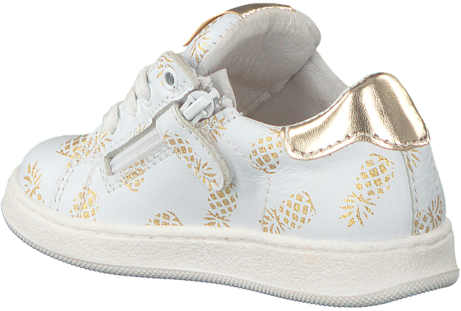 Witte CLIC! Sneakers 9187 - large