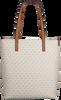 Witte MICHAEL KORS Shopper LG NS TZ TOTE - small