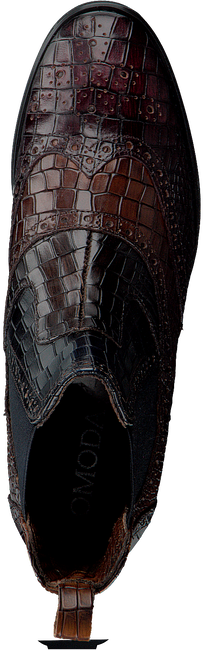 Bruine OMODA Chelsea boots 73B-003  - large