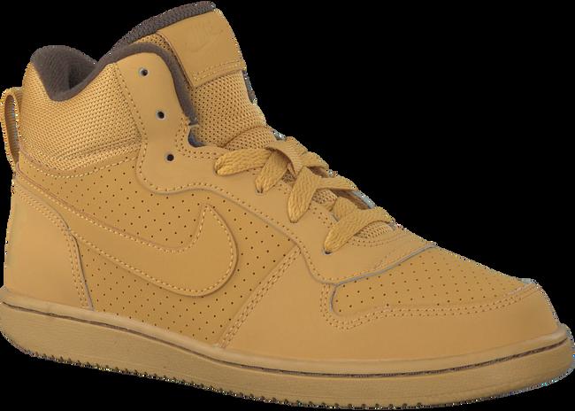 Camel NIKE Sneakers COURT BOROUGH MID (KIDS)  - large