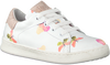 Witte CLIC! Lage sneakers 9187  - small