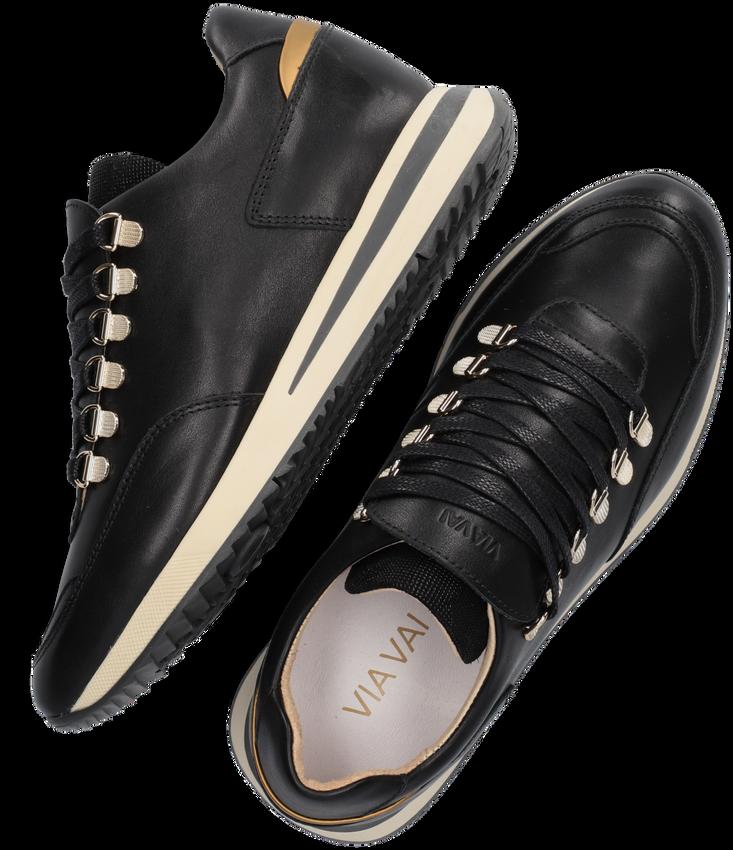 Zwarte VIA VAI Lage sneakers NORA  - larger