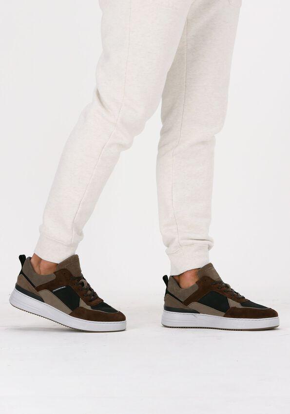 Bruine CYCLEUR DE LUXE Lage sneakers COMMUTER  - larger