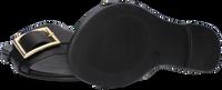 Zwarte NOTRE-V Slippers 10201  - medium