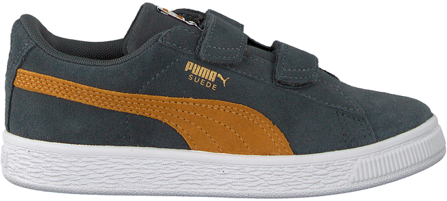 Grijze PUMA Sneakers SUEDE CLASSIC INF - large