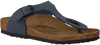 Blauwe BIRKENSTOCK Slippers GIZEH EXTRA BREED - small