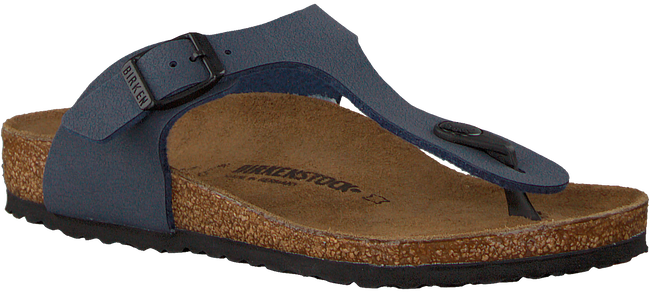 Blauwe BIRKENSTOCK Slippers GIZEH EXTRA BREED - large