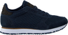 Blauwe WODEN Lage sneakers YDUN SUEDE MESH II  - small