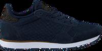 Blauwe WODEN Lage sneakers YDUN SUEDE MESH II  - medium