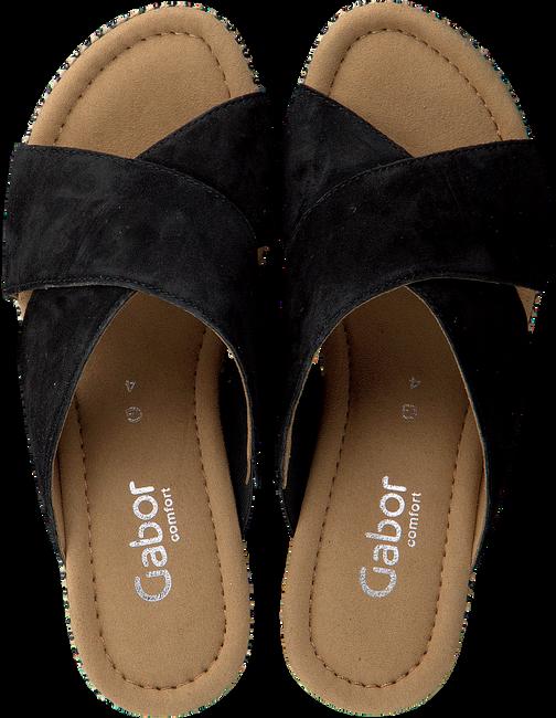 Zwarte GABOR Slippers 829 - large