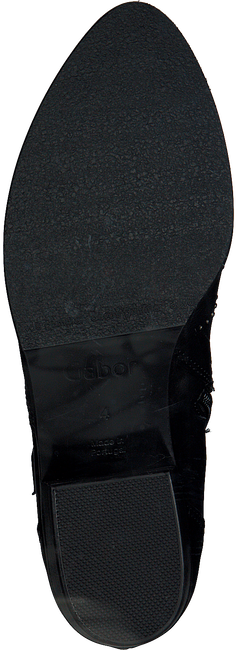 Zwarte GABOR Enkellaarsjes 592 - large