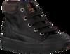 Zwarte SHOESME Veterschoenen SH9W030  - small