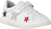 Witte TOMMY HILFIGER Sneakers LOW CUT LACE UP/VELCRO  - small
