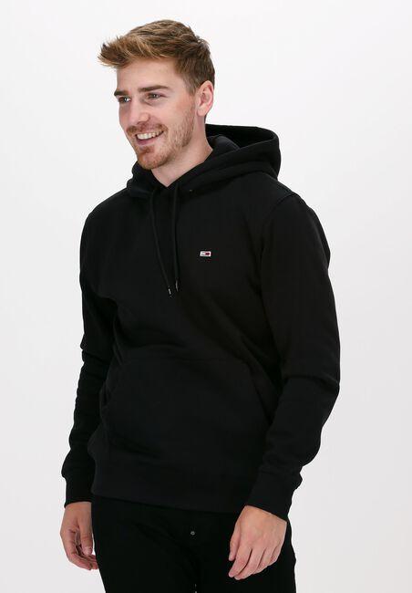 Zwarte TOMMY JEANS Sweater TJM REGULAR FLEECE HOODIE  - large