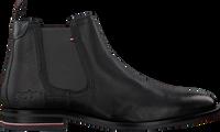 Zwarte TOMMY HILFIGER Chelsea boots SIGNATURE HILFIGER CHELSEA  - medium