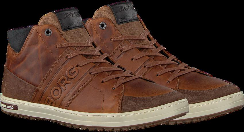 Cognac BJORN BORG Sneakers CURD MID M  - larger