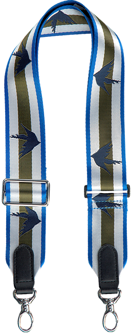 Blauwe BECKSONDERGAARD Schouderband PIPIT STRAP  - large