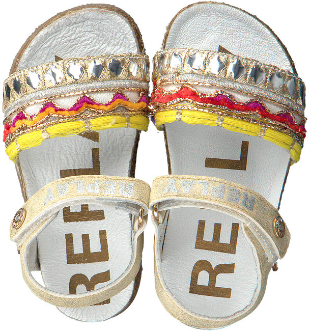 Gouden REPLAY Sandalen HOLLIES - large