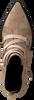 Taupe LOLA CRUZ Enkellaarsjes 442T30BK - small