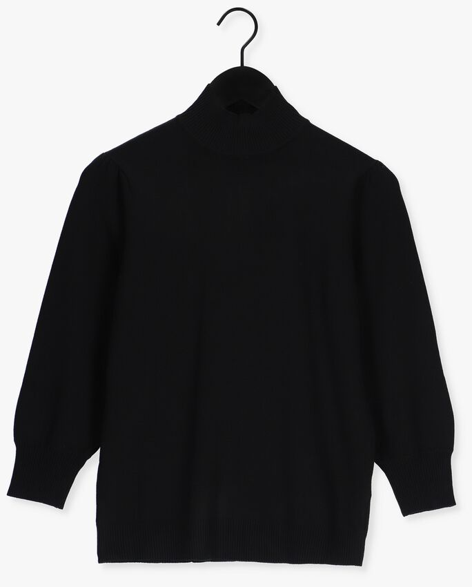 Zwarte MINUS Trui MERSIN ROLL NECK KNIT - larger