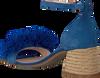 Blauwe FRED DE LA BRETONIERE Sandalen FRS0333 SANDALET 5CM 5CM SUEDE - small