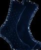 Blauwe MARCMARCS Sokken ANDREAS COTTON 2-PACK - small