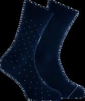 Blauwe MARCMARCS Sokken ANDREAS COTTON 2-PACK - medium