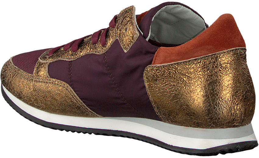 Paarse PHILIPPE MODEL Sneakers TROPEZ L JUNIOR  - larger