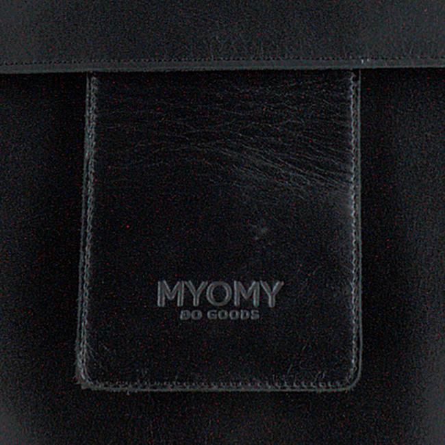 Zwarte MYOMY Rugtas MY HOME BAG BACKBAG  - large
