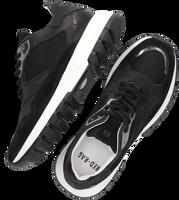 Zwarte RED-RAG Lage sneakers 76858  - medium