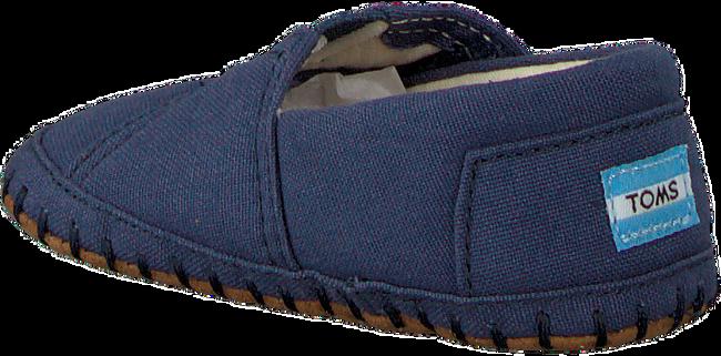 blauwe TOMS Babyschoenen CRIB ALPARGATA  - large