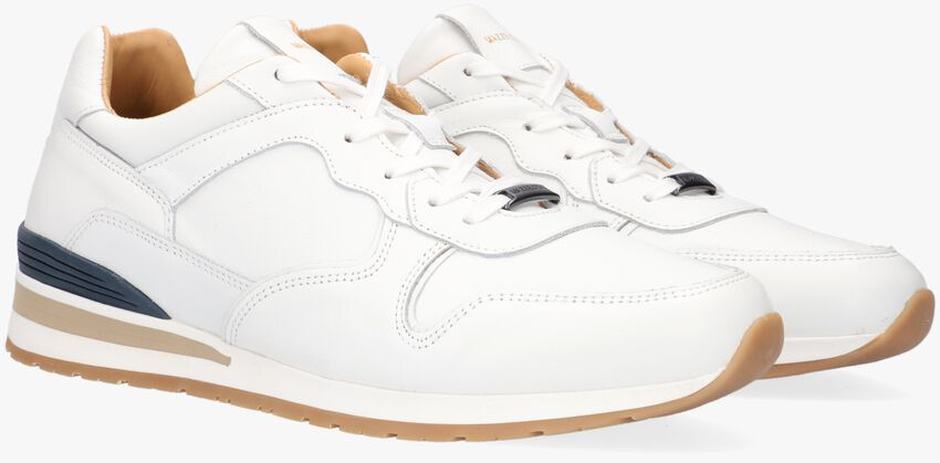 Witte MAZZELTOV Lage sneakers 11742  - larger