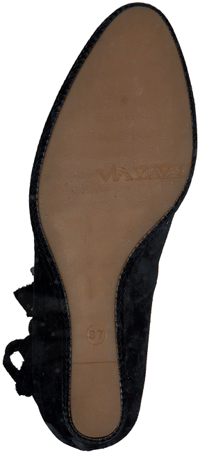 Zwarte VIA VAI Espadrilles 5011008  - large