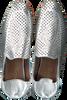 Zilveren LOLA CRUZ Loafers 113Z10BK - small