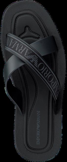 Zwarte EMPORIO ARMANI Slippers X4P079  - large