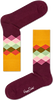 Multi HAPPY SOCKS Sokken FADED DIAMOND - small