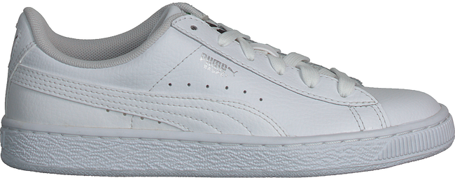 Witte PUMA Sneakers BASIC CLASSIC LFS KIDS  - large