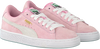 Roze PUMA Sneakers SUEDE JR - small