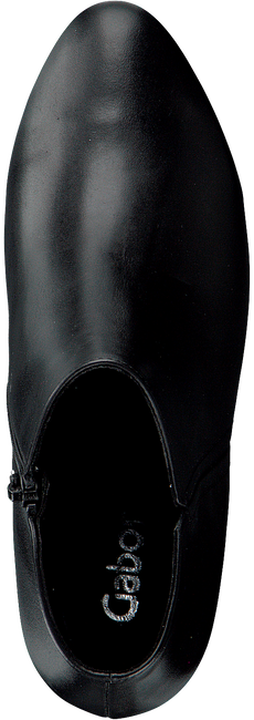 Zwarte GABOR Enkellaarsjes 700.1 - large