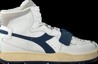 Witte DIADORA Hoge sneaker MI BASKET USED  - medium