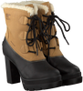 Camel SOREL Enkelboots DACIE LACE  - small