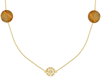 Gouden JEWELLERY BY SOPHIE Ketting NECKLACE DESERT - medium