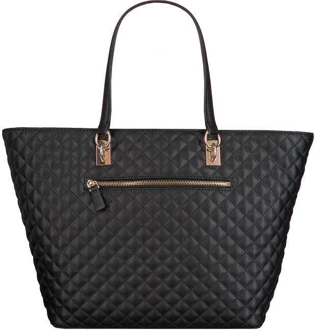 Zwarte GUESS Handtas PASSION TOTE  - large