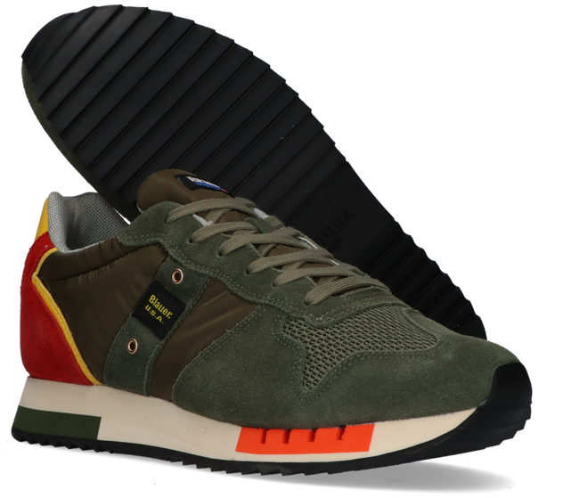 Groene BLAUER Lage sneaker QUEENS01 - large